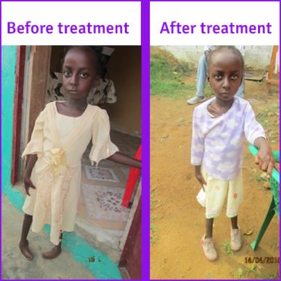 Josephine in Liberia