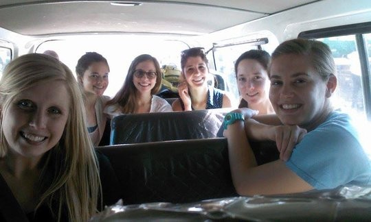 Our 2013 GROW team headed to Maison de Naissance!