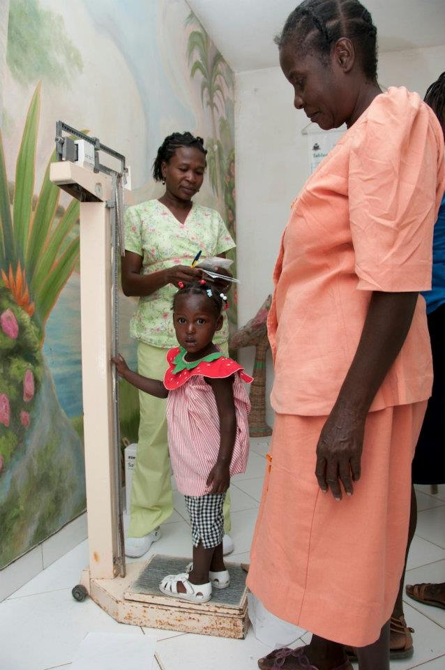 Well-baby Care Vaccination Program in rural Haiti