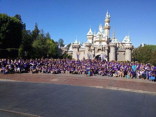 Epilepsy Awareness Day at Disneyland 2014
