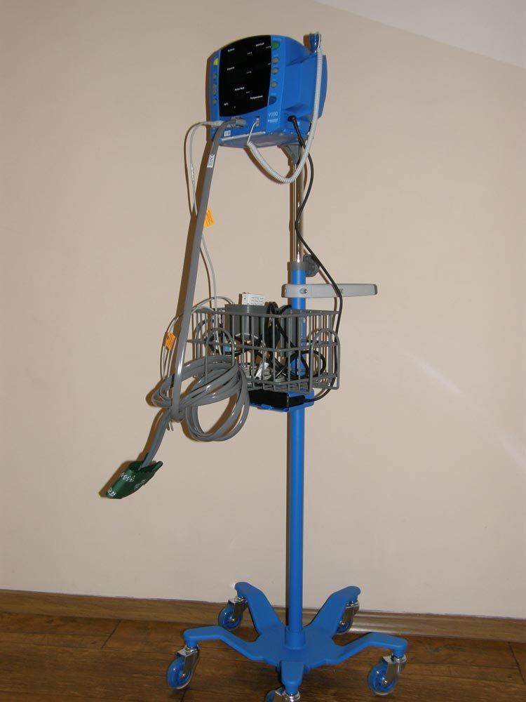 The V-100 monitor.