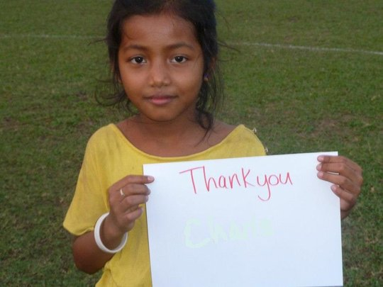 The girls are extremely grateful for your support!