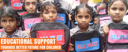 Educate and Empower 100 girl children in India