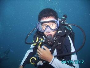 Kevin earns scuba certifications