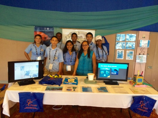 Geography students present Marine Debris Mapping