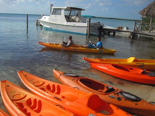 Kayak Tours with OA students - book one today!