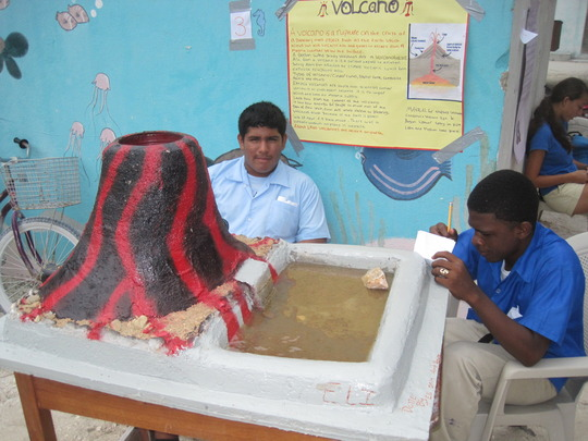What is a Science Fair without volcanos?