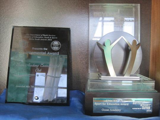 Awards for Environmentalism & for Aquatic Tourism