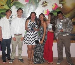 Students at National Youth Awards
