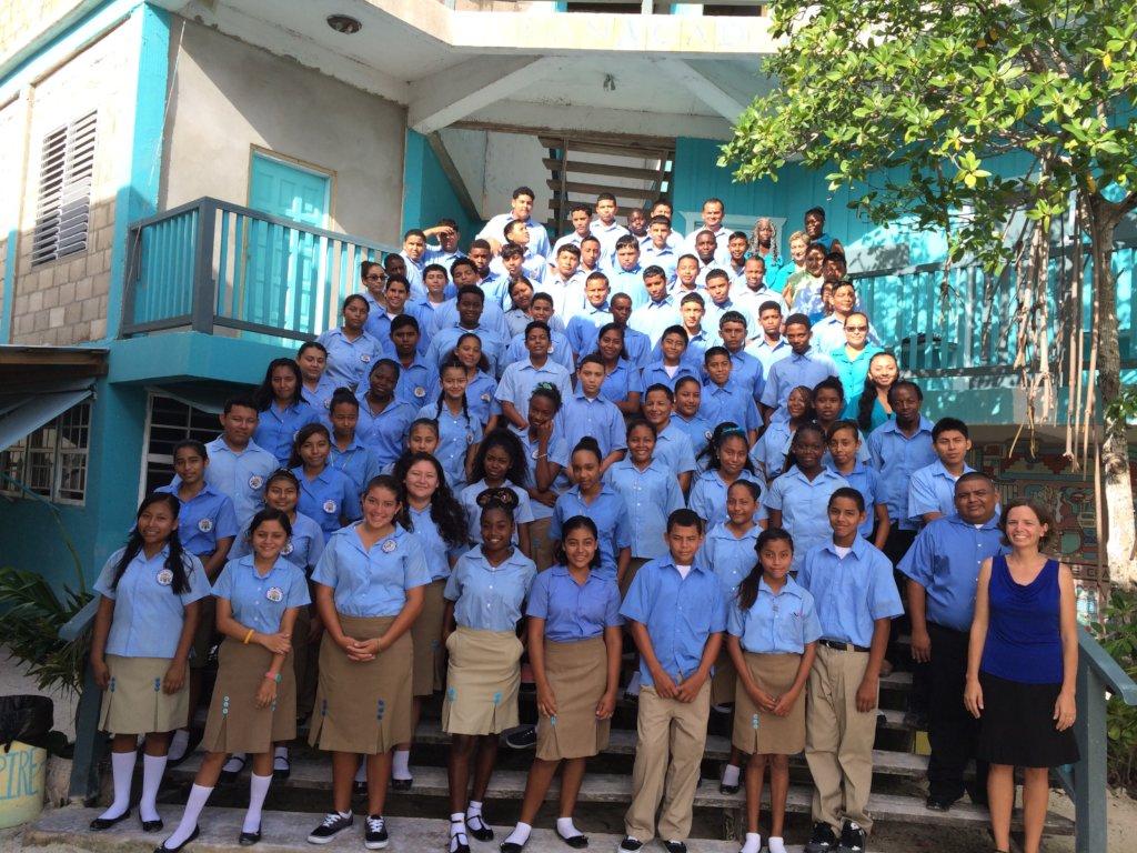 Danny Michel Ocean Academy Project, Belize
