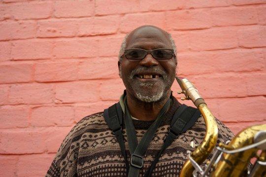 John, our saxophone teacher at Ntonga