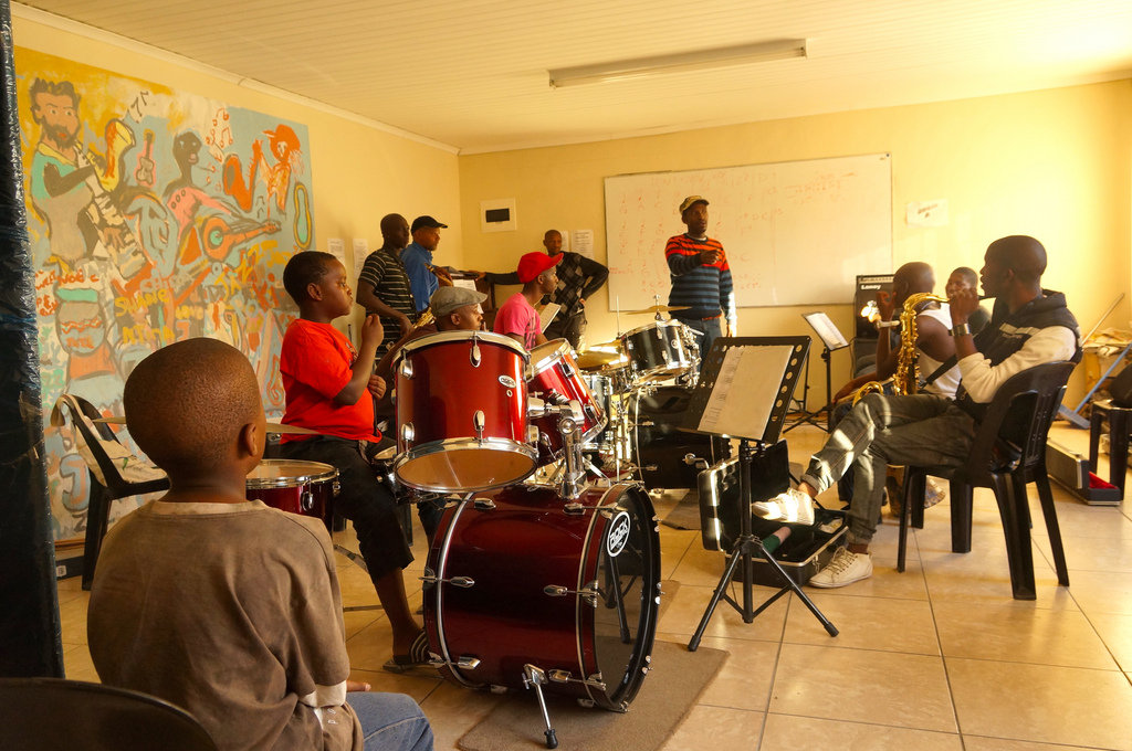 Help a South African Community Rebuild with Music