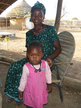 Residents of Fongoli village