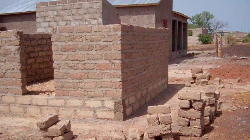 Dormitory in Kedougou, Senegal