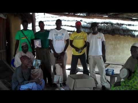Leaders of Djendji village