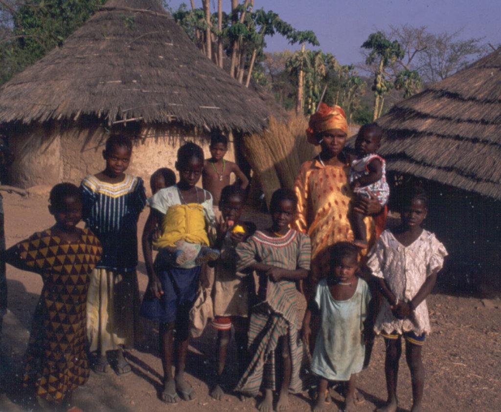 Family at Djendji village