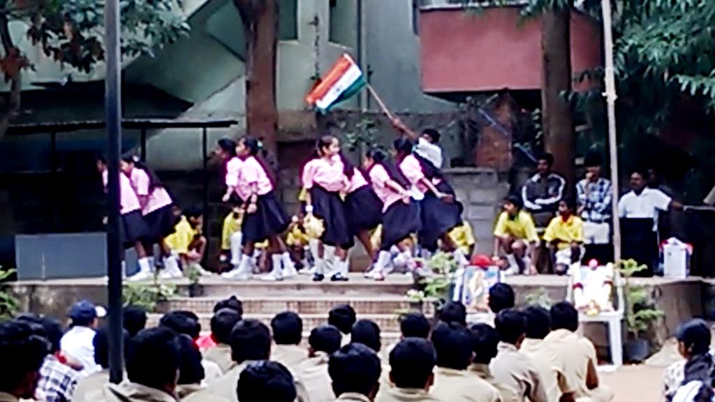 Children Celebrating Independence Day
