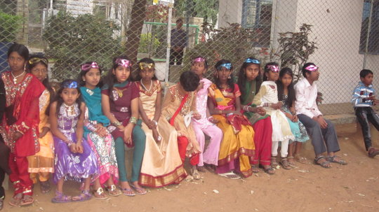 childrens mood during cultural events
