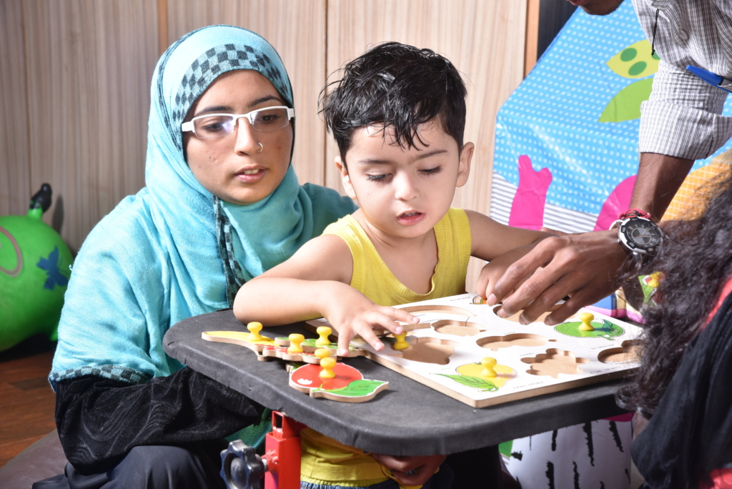 Early intervention for a child with disability