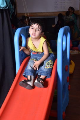 child learning through play