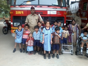 Exposure Visit to Fire Station