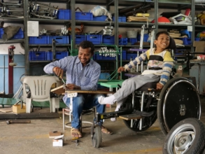 Mobility aids and wheelchair distribution