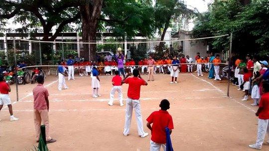 Volley Ball Match