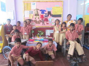 Display of projects done by children