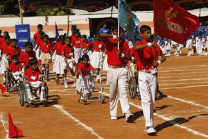 Children 's Parade on Sports Day
