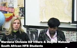 Interview with Bellville and Isilimela students