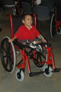 Mobility--A Human Right: Wheelchairs for Colombia