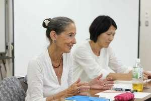 Prof. Amia Lieblich at a VOT workshop in Sendai