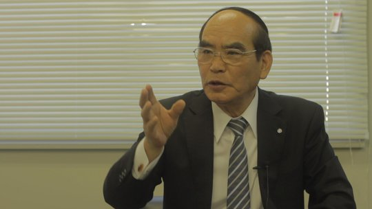 interview with mayor of Watari-Cho