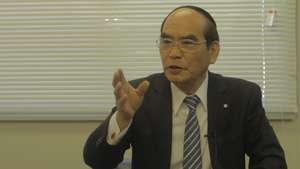 interview with mayor of Watari-Cho