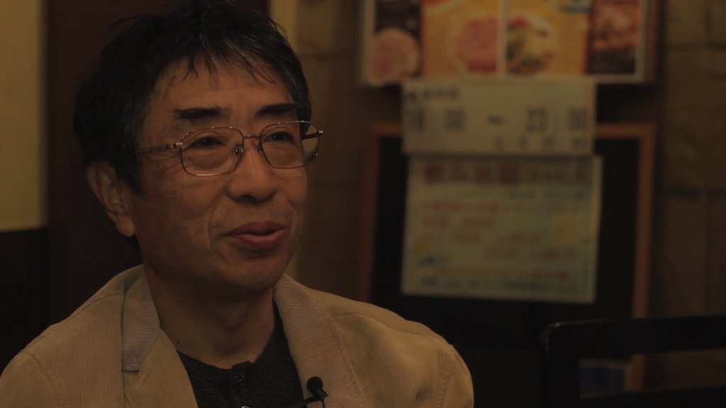 interview with resident of Yamamoto-Cho