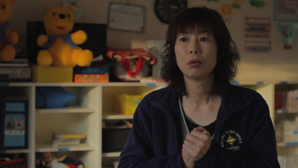 interview with teacher in Watari-Cho
