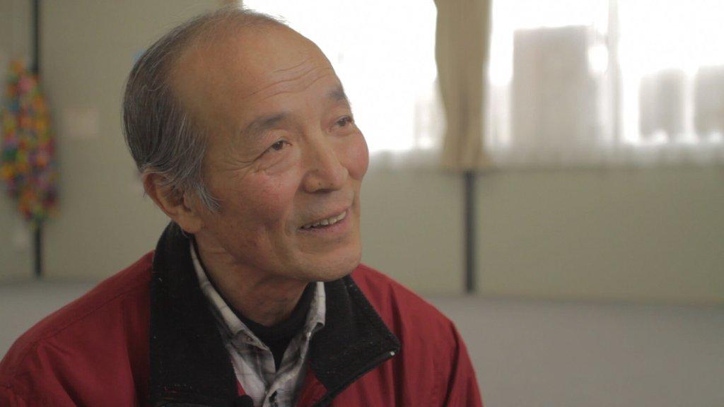 interview with elderly man Watari-Cho