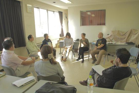 volunteer training in Yamamoto