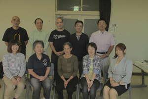 volunteers training in Yamamoto