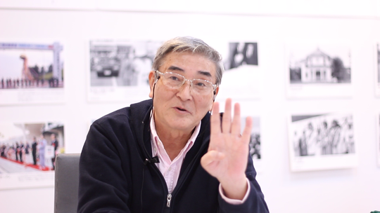 Mr. Kikuta of Ishinomaki Telling His Story, Oct 28