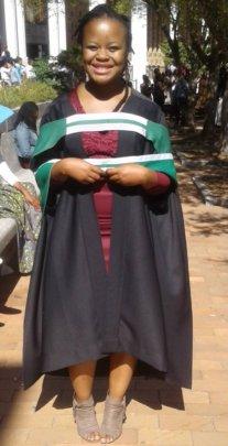 Sikelelwa (Masiphumelele alumnus) BA Honours