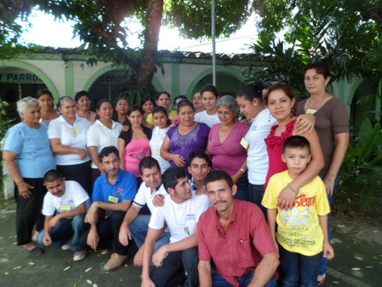 Community health workers at a training workshop