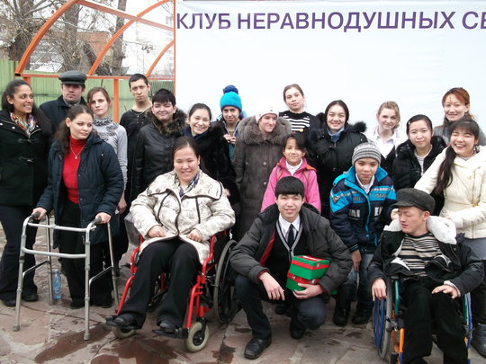 Therapy room for 155 severe disabled children