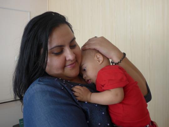 Promoting parent child relationships in Tajikistan