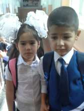 First day of school in Tajikistan
