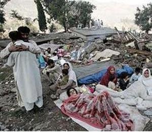 Relief for Pakistan Earthquake Survivors