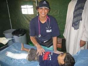 RI Doctor with Patient