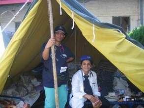 RI Doctors in Tent