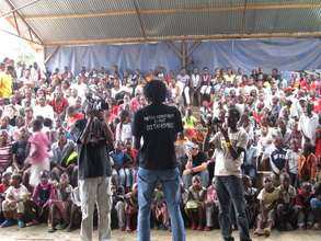 Political Forum that was held in Baba Dogo