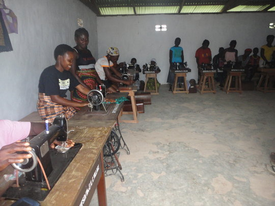 Sewing skills training project